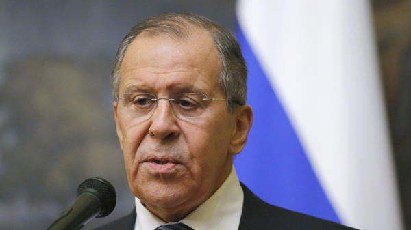 Russian Foreign Minister Sergey Lavrov announced Thursday that Moscow is expelling 60 U.S. diplomats.