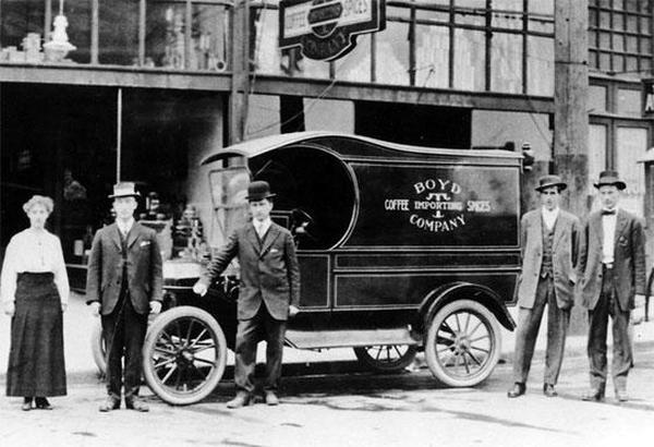 Boyd Coffee Company Portland Oregon
