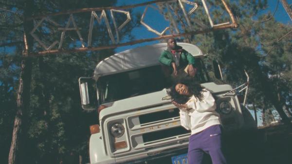 """A still from SZA's """"Broken Clocks"""" video."""