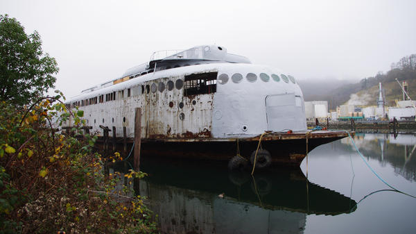 <strong></strong><strong>Not Dead Yet:</strong> On July 3, 1935, the Kalakala started daily ferry service between Seattle and Bremerton, Wash. Today, it sits unused in a nearby Tacoma dock.