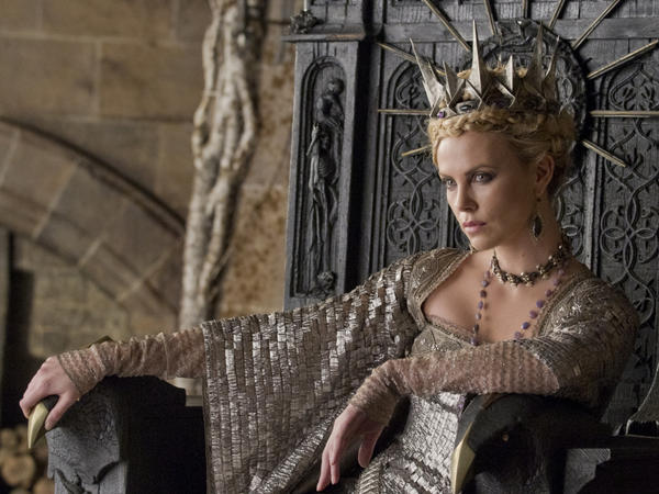 Charlize Theron plays the evil Queen in the upcoming dark adaptation <em>Snow White and the Huntsman</em>.