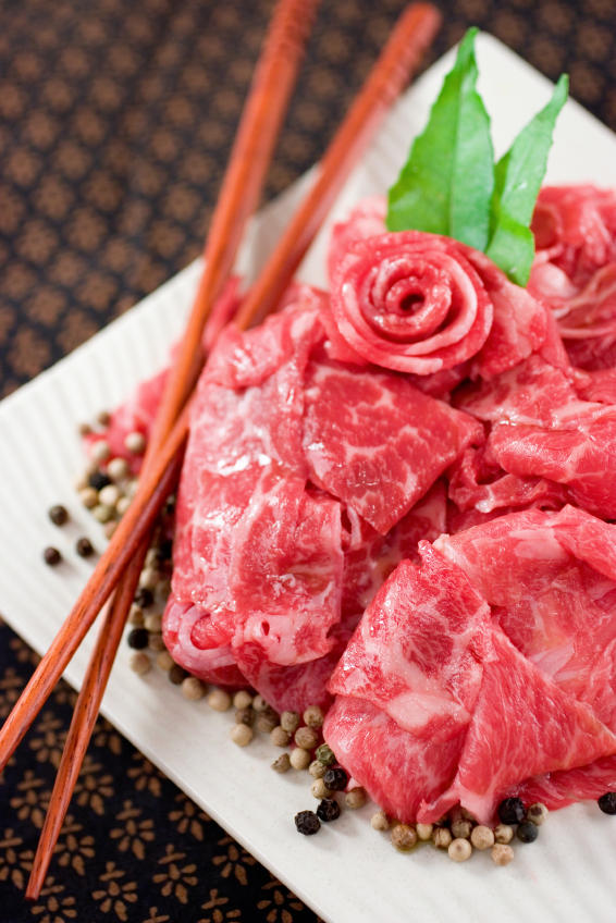 Is that real Kobe beef? If you're eating it in the United States, then it's not.