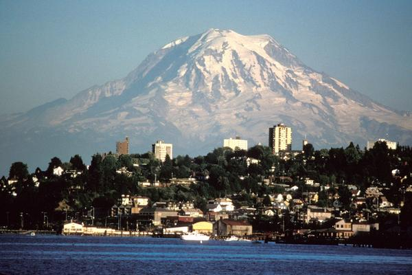 """Tacoma, Wash., tops <em>The Advocate</em> magazine's list of """"Gayest Cities in America."""" It was followed by Springfield, Mass., and Spokane, Wash. <em>Advocate</em> editor Matthew Breen says marriage equality gave the advantage to cities in Washington state this year."""