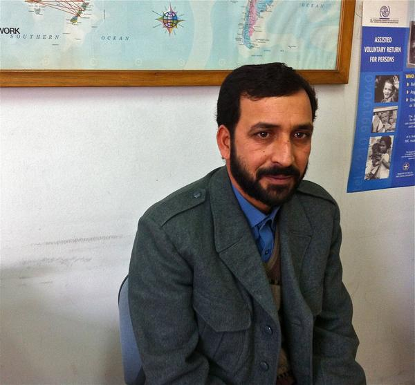 Mohammad Afzaal, a 35-year-old house painter from northeastern Pakistan, has signed up for a voluntary repatriation program run by the International Organization of Migration and financed by the European Commission.