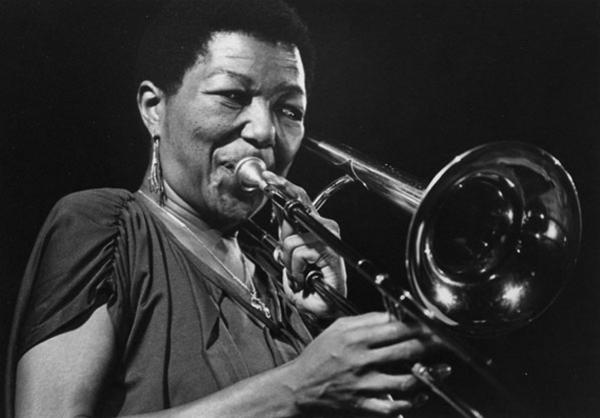 Trombonist and arranger Melba Liston is one of the women featured in a new documentary about female instrumentalists in jazz, <em>The Girls in the Band.</em>