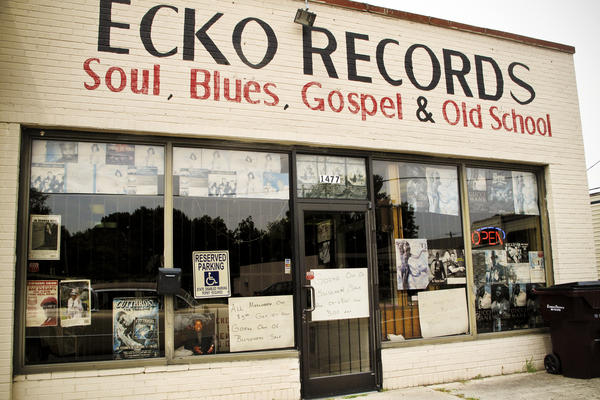 "Tad Pierson stops at a record store known for featuring local Memphis artists, but finds a ""going out of business"" sign on the door. Pierson says the city's ""cultural collateral"" is fading away."