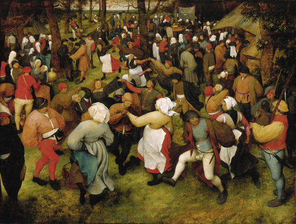 <p>This Bruegel painting received the highest appraisal in the Christie's report, with an upper estimate of $200 million.</p><p><em>The Wedding Dance</em>, Pieter Bruegel the Elder, c. 1566, oil on oak panel.</p>
