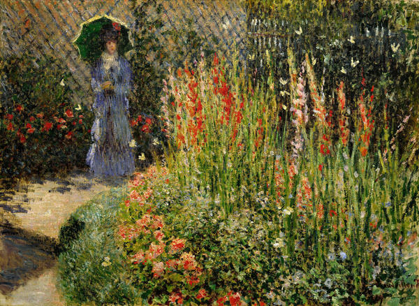 <em>Gladioli</em>, Claude Monet, ca. 1876, oil on canvas.