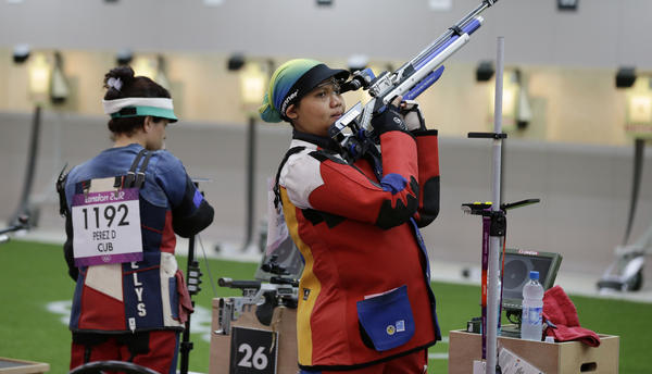 Malaysian shooting athlete Nur Suryani Taibi was eight months pregnant in 2012 as she prepared for the Summer Olympics in London.