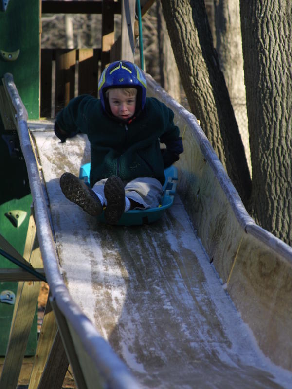 Tucker West started in luge when he was 6.