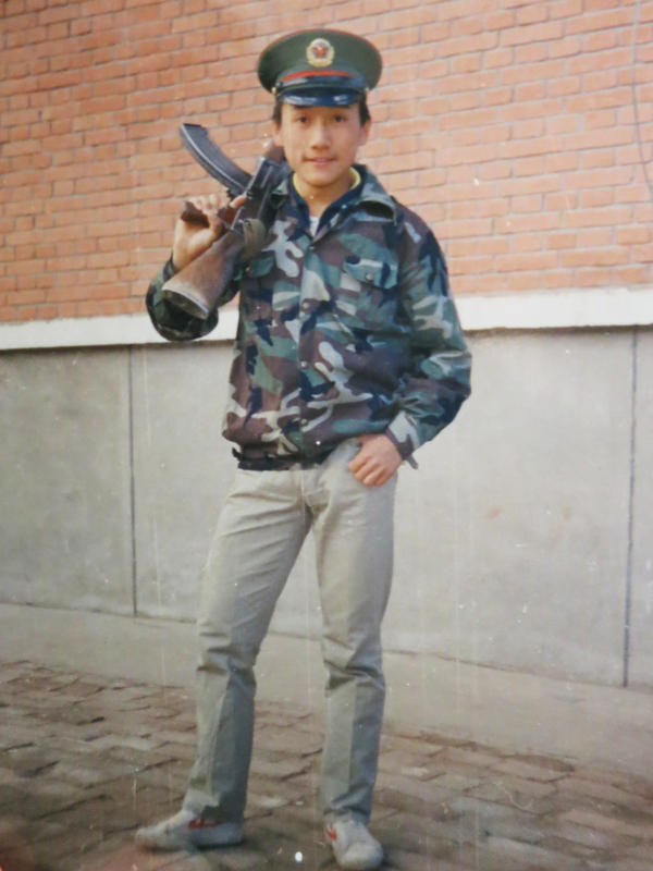 The last picture taken of Wang Nan shows him attending compulsory military camp, where he was given a standard-issue military belt. Because he was wearing it when he died, his corpse was misidentified as a soldier's and sent to the hospital, instead of being cremated as an unidentified rioter, so his parents were able to claim it.