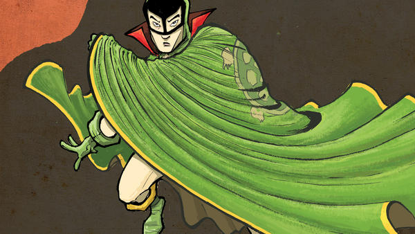 <em>The Shadow Hero</em>, a new graphic novel by Gene Luen Yang and Sonny Liew, revives the comic book hero the Green Turtle.