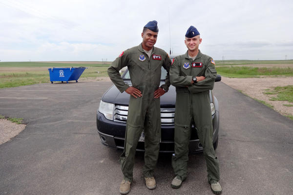 Capt. Joseph Shannon and Lt. Raj Bansal are a two-man crew overseeing 10 nuclear weapons.