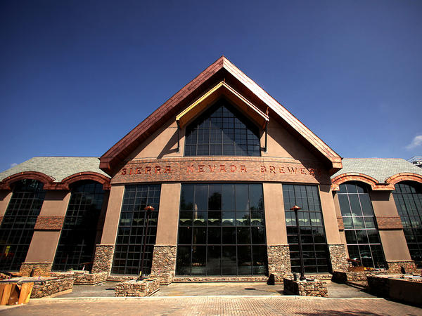 The Sierra Nevada brewery in Mills River, N.C.