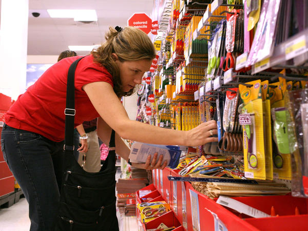 Retailers are optimistic about back-to-school sales because the job market has been strengthening and gas prices have been falling.