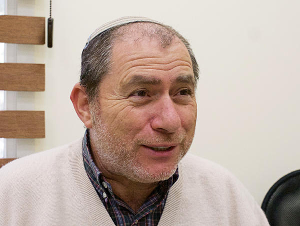 Chaim Silberstein, a Beit El councilman, moved to the settlement in 1985. He hopes that more settler homes will be approved for the area.