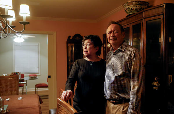 Sally and Gilroy Chow in their home in Clarksdale, Miss.