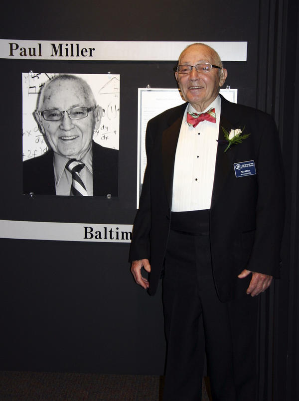 """Miller was inducted into the National Teachers Hall of Fame in 2011, an honor he never expected. """"If you become a teacher to become famous, forget it,"""" he says."""