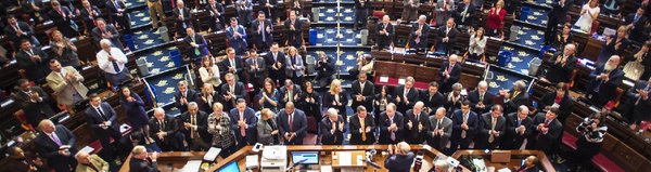 Some members of the Connecticut state legislature.