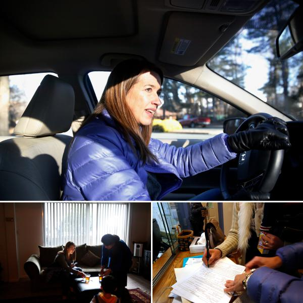 On a typical day, Liza Fields, a member of International Neighbors' board, can be found driving around in her Honda, giving refugees rides to clinics or sitting with them to fill out paperwork.