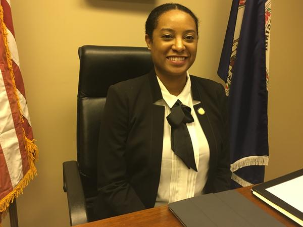 Del. Jennifer Carroll Foy campaigned through a difficult pregnancy with twins and was disappointed to find accommodations like lactation rooms and changing tables lacking when she got to Richmond.