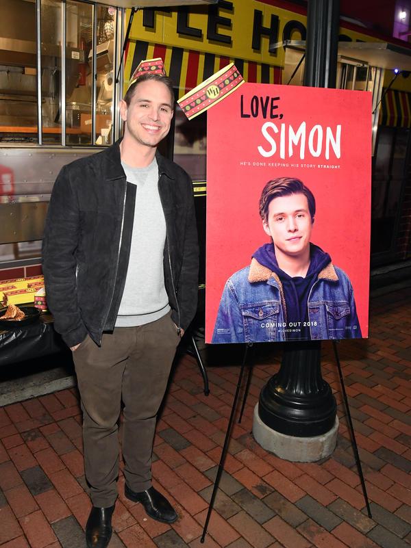 Director Greg Berlanti attends a <em>Love, Simon </em>screening in Atlanta.
