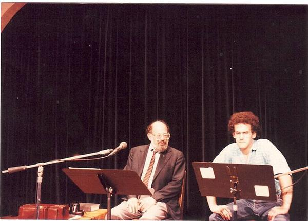 Allen Ginsburg invited Barfield to join him onstage after requesting a guitarist who could play the blues.