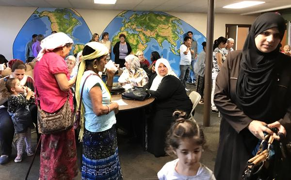 Akron anadd other older cities have embraced the thousands of refugees who have settled here.