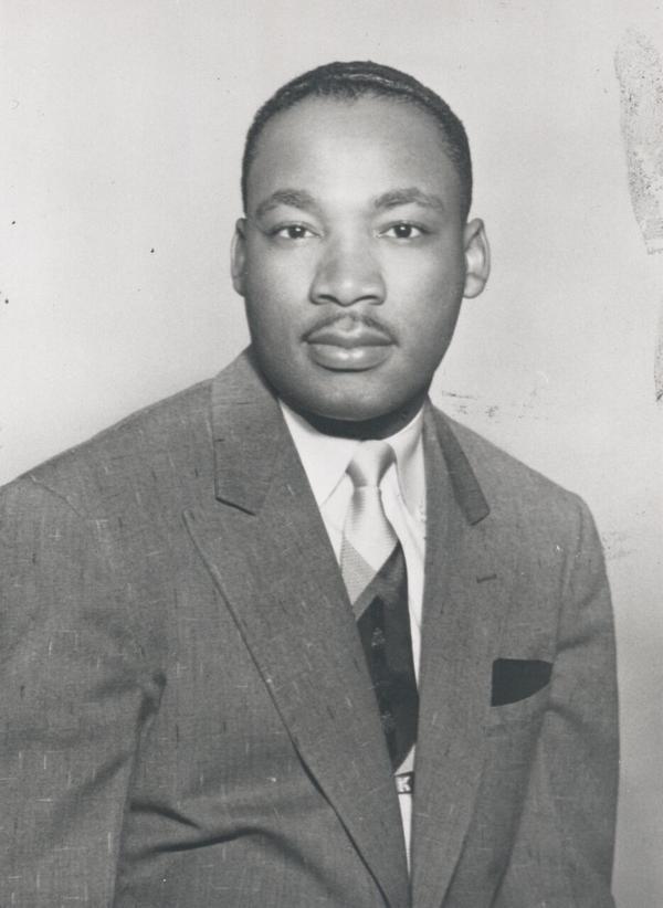 Martin Luther King Jr. (Courtesy Boston University)