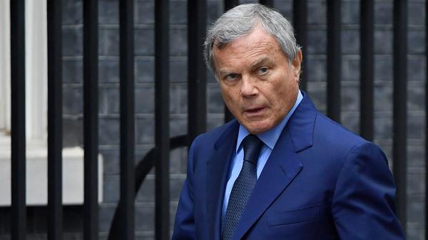 WPP CEO Martin Sorrell arrives to attend a Business Advisory Council at 10 Downing Street in London on Oct. 9, 2017.