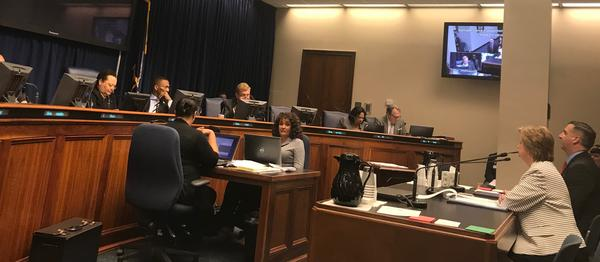 Senator Sharon Hewitt presented a bill to the Senate and Governmental Affairs committee Wednesday, March 4.  It would strengthen sexual harassment policies throughout state government.