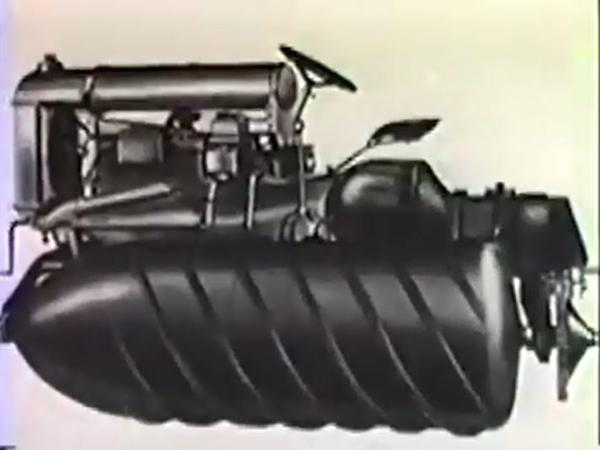 The Detroit-made Armstead Snow Motor was a precursor to modern snow travel.
