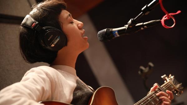 Haley Heynderickx performing live for Folkadelphia at WXPN's studios in Philadelphia, PA.