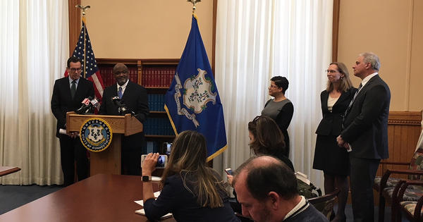 If approved by the legislature, Richard Robinson would be the first black chief justice of the Connecticut Supreme Court