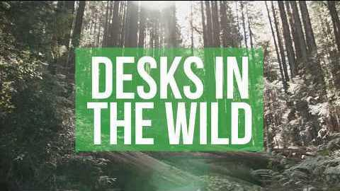 To celebrate all the amazing places artists brought desks for this year's Contest, we made a supercut of some of our favorite desks outside their natural habitats.