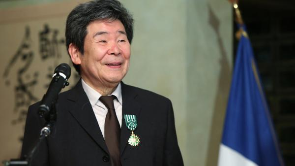 Japanese animation movie director Isao Takahata received many honors over his career, including France's <em>officier de l'Ordre</em> <em>des Arts et des Lettres</em>, which he accepted in 2015.
