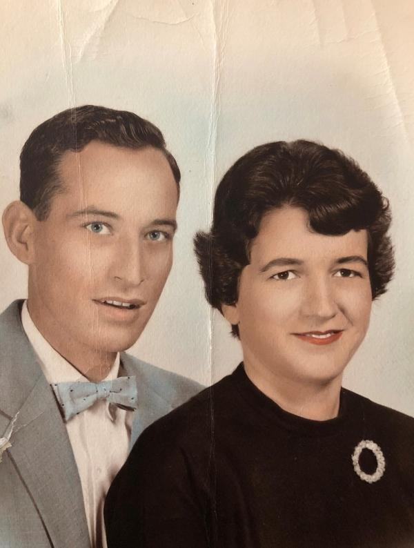 The couple in the early 1960s, during their first marriage to each other.