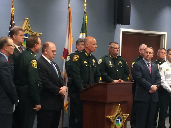 Pinellas Sheriff Bob Gaultieri announces a new partnership which will allow sheriffs from around the state to legally hold undocumented criminals for up to 48 hours so they can be deported.