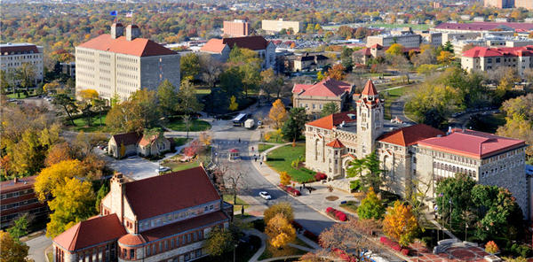 The University of Kansas, like other Midwestern schools, has been offering tuition price breaks to lure out-of-state students.