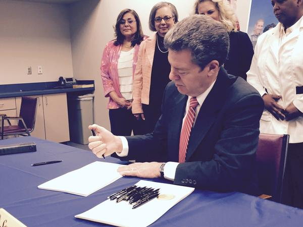 Gov. Sam Brownback signed a welfare reform measure in 2015 that included lower lifetime limits on cash assistance for low-income Kansans. Since 2011 the state has reduced the lifetime limit for people in TANF.