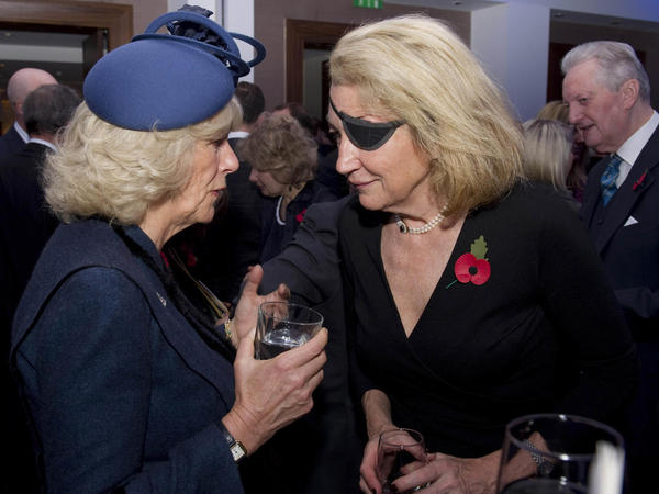 New evidence presented in a Washington, D.C., federal court claims that American journalist Marie Colvin, right, was killed in a targeted assassination by the Syrian regime in 2012.