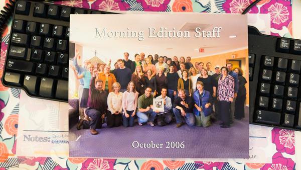 <em>Morning Edition</em> staff photo from 2006.