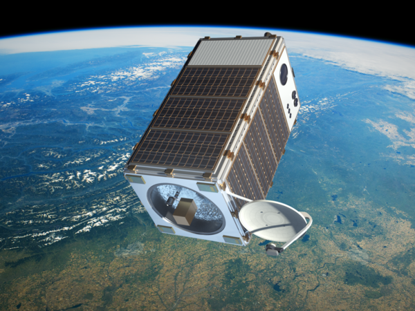 A new satellite, called MethaneSAT,will track methane emissions from oil and gas fields, as well as agriculture and natural sources. It's due for launch in three years.