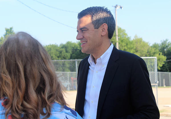 """U.S. Rep. Kevin Yoder, a Republican who represents the 3rd District in Kansas, on Thursday issued a statement in support of a ban on """"bump stocks"""" used to increase the firing power of semi-automatic rifles."""