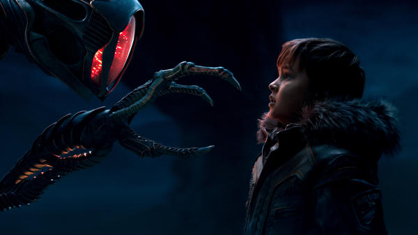 In Netflix's new <em>Lost in Space</em>, young Will Robinson (Max Jenkins) faces danger. Again, and again ... and again.
