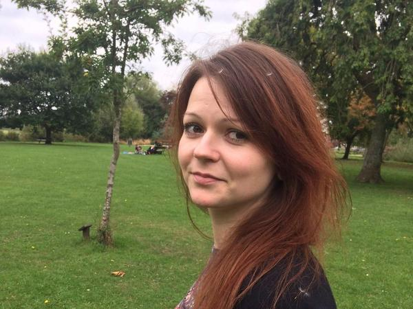 Yulia Skripal, the daughter of former Russian spy Sergei Skripal, in an image taken from her Facebook page on March 6.