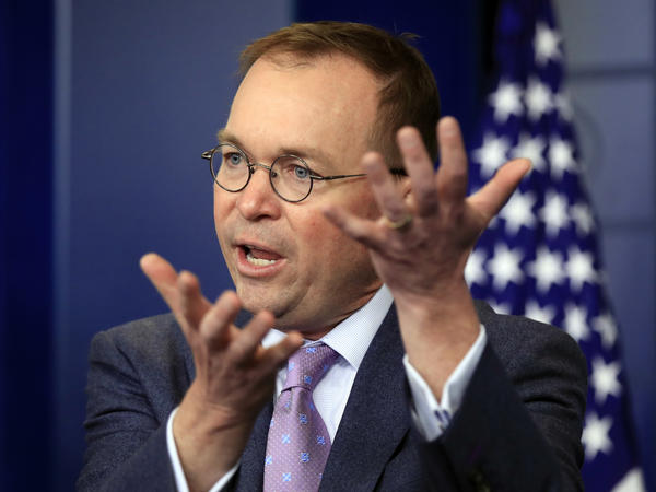 Mick Mulvaney was appointed by President Trump as acting head of the Consumer Financial Protection Bureau. As a congressman, Mulvaney sponsored legislation to abolish the agency.