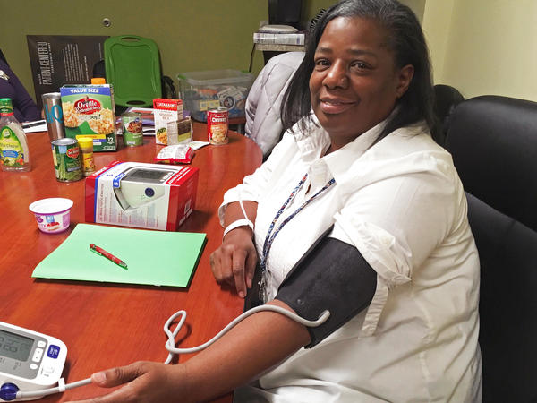 Sharon Fulson of Nashville, Tenn., says she works hard to keep her hypertension under control. But the medication that's supposed to help with that makes her nervous and groggy, and she has skipped a dose more than once.