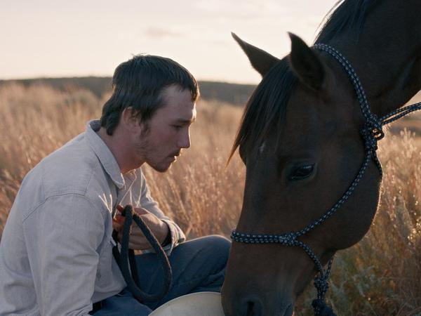 Brady Jandreau recreates his own struggle to recover from a serious rodeo accident in <em>The Rider. </em>