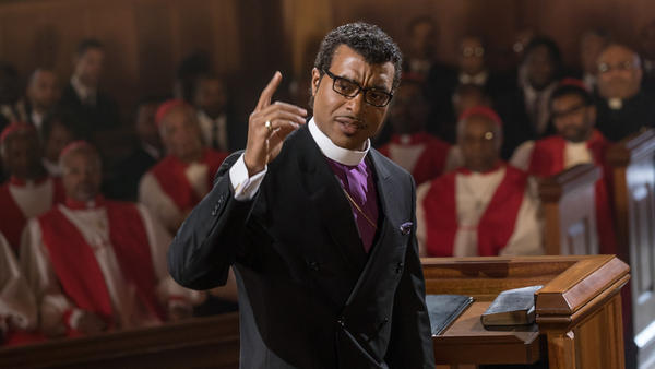 In <em>Come Sunday, </em>Chiwetel Ejiofor plays Carlton Pearson, a real-life megachurch leader who experiences a crisis of faith.